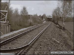 Gif avec les tags : roller coaster,train,wtf